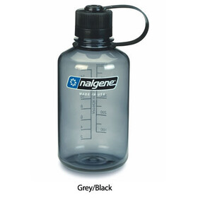 Nalgene 0,5L Narrow Mouth Bottles Grey/Black (2078-2030)